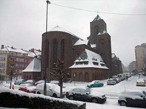 ベルギーの教会
